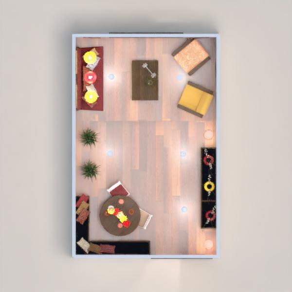 planos muebles salón comedor 3d