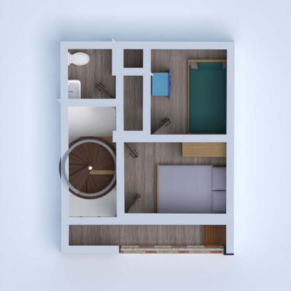 floorplans house bathroom bedroom living room kitchen 3d