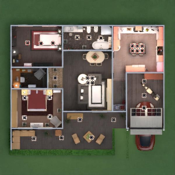 floorplans casa veranda arredamento decorazioni angolo fai-da-te bagno camera da letto saggiorno garage cucina esterno studio illuminazione rinnovo paesaggio famiglia caffetteria sala pranzo architettura vano scale 3d