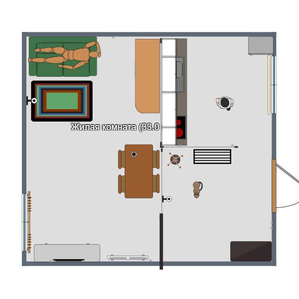 floorplans casa angolo fai-da-te architettura 3d