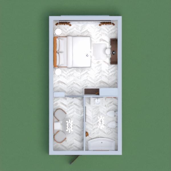 floorplans muebles cuarto de baño dormitorio iluminación 3d