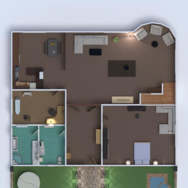 floorplans namas baldai dekoras vonia miegamasis svetainė virtuvė eksterjeras vaikų kambarys biuras apšvietimas namų apyvoka kavinė valgomasis аrchitektūra 3d