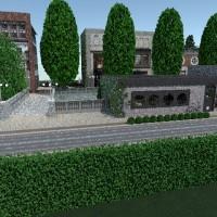 floorplans haus badezimmer schlafzimmer wohnzimmer küche outdoor landschaft esszimmer 3d