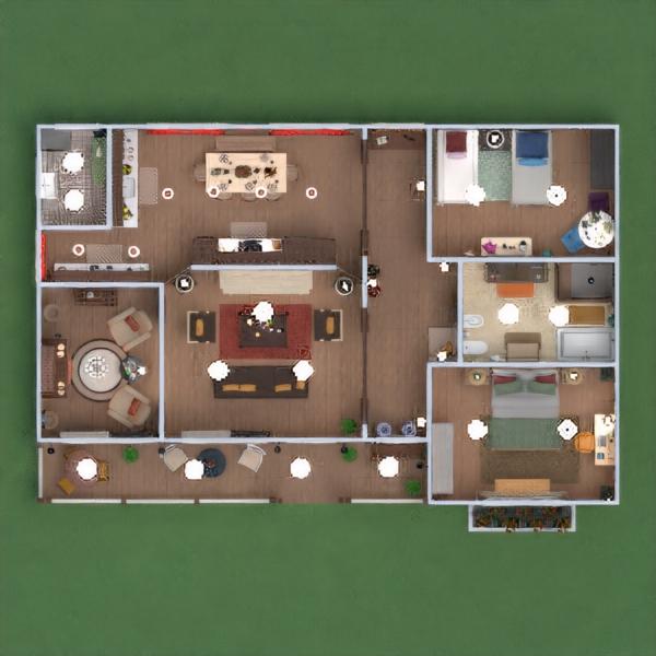floorplans casa varanda inferior mobílias decoração faça você mesmo casa de banho dormitório quarto cozinha área externa iluminação reforma paisagismo utensílios domésticos cafeterias sala de jantar arquitetura patamar 3d