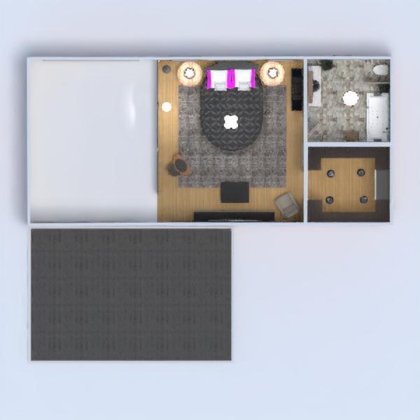 floorplans apartamento terraza muebles decoración cuarto de baño dormitorio salón cocina exterior iluminación hogar arquitectura trastero estudio descansillo 3d