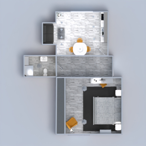 floorplans appartement meubles décoration diy salle de bains chambre à coucher salon cuisine bureau eclairage salle à manger 3d
