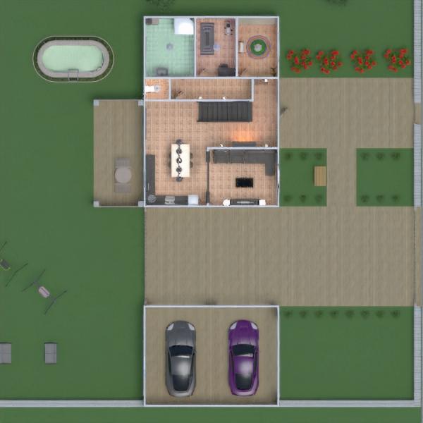 floorplans casa veranda arredamento decorazioni bagno camera da letto saggiorno garage cucina esterno cameretta studio illuminazione sala pranzo vano scale 3d
