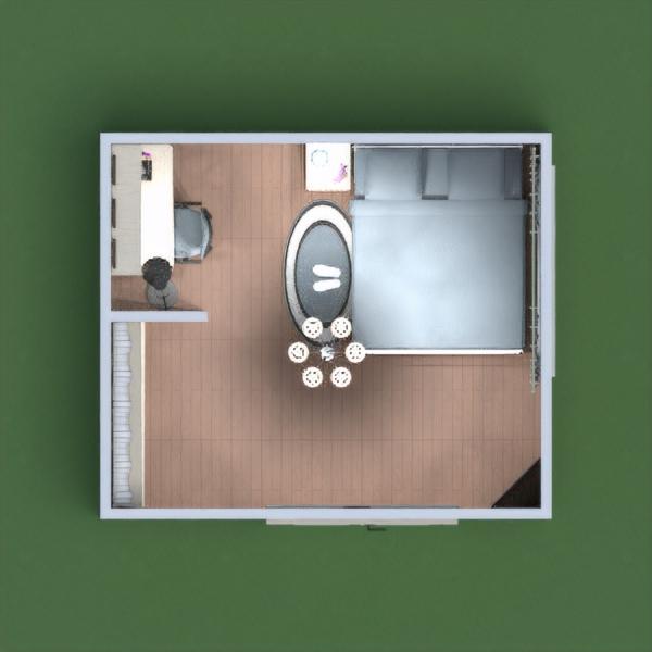 планировки спальня детская 3d
