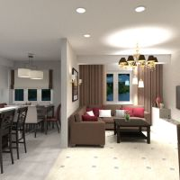 floorplans apartment house furniture decor living room kitchen lighting renovation dining room storage studio 3d