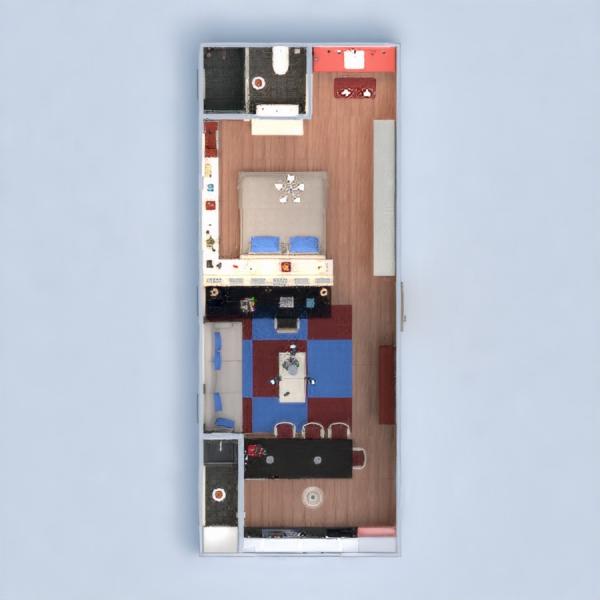 floorplans apartamento casa mobílias decoração casa de banho dormitório cozinha escritório iluminação utensílios domésticos estúdio 3d