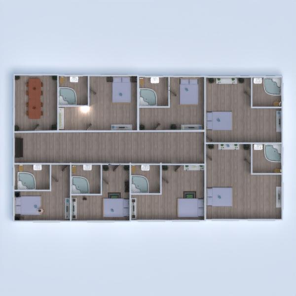 floorplans haus mobiliar badezimmer schlafzimmer garage 3d