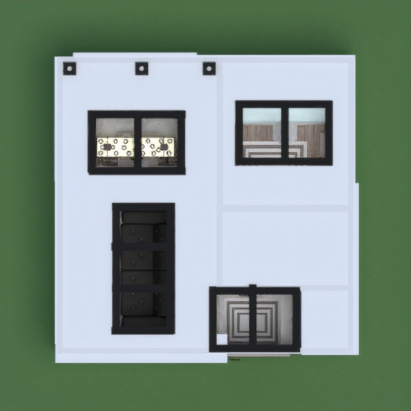 floorplans apartamento casa iluminación 3d