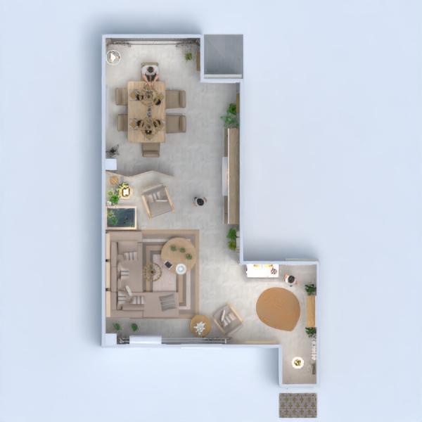 floorplans casa mobílias decoração quarto 3d