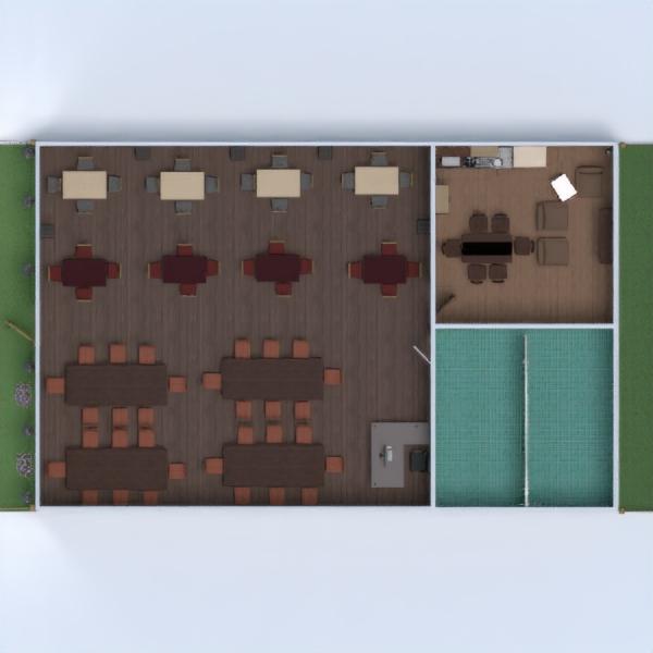 floorplans butas terasa kraštovaizdis namų apyvoka valgomasis аrchitektūra 3d