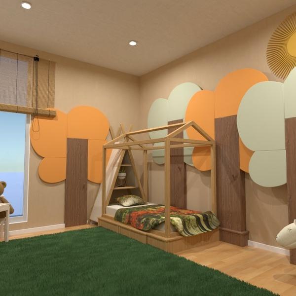 планировки декор спальня детская 3d