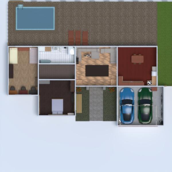floorplans casa angolo fai-da-te bagno camera da letto saggiorno garage cucina esterno cameretta illuminazione famiglia sala pranzo architettura 3d
