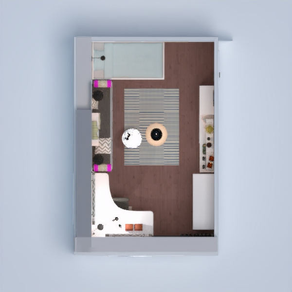 floorplans apartamento casa habitación infantil iluminación reforma trastero 3d
