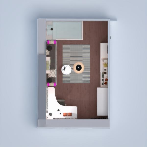 floorplans apartment house kids room lighting renovation storage 3d