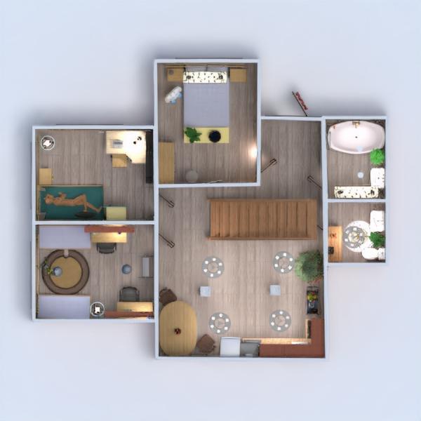 floorplans dom meble wystrój wnętrz zrób to sam łazienka 3d
