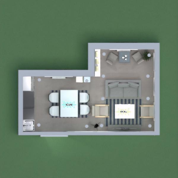 floorplans cozinha iluminação 3d