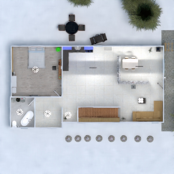 floorplans decor lighting 3d