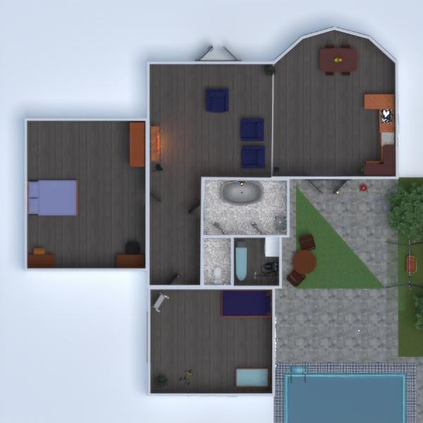 floorplans cocina exterior habitación infantil paisaje trastero 3d
