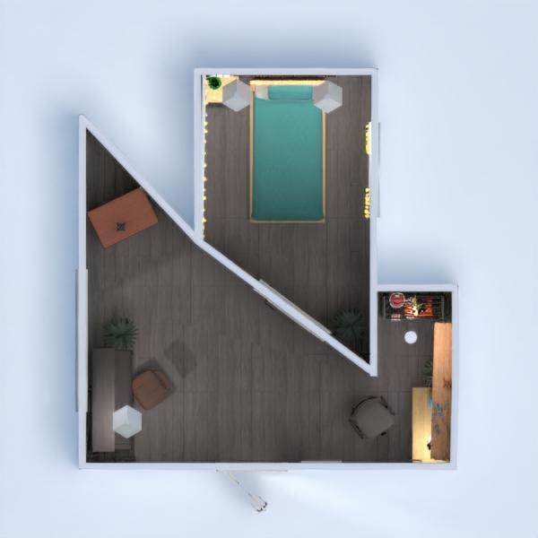 floorplans decorazioni angolo fai-da-te camera da letto cameretta ripostiglio 3d