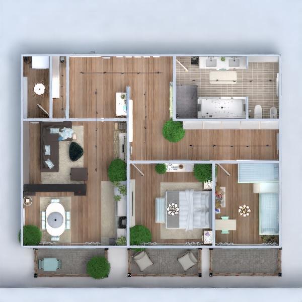 floorplans apartment furniture decor bathroom bedroom living room kitchen outdoor kids room renovation household 3d