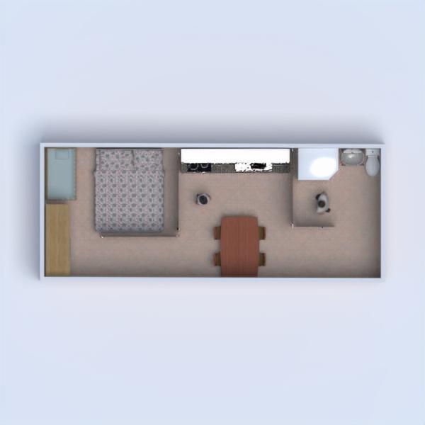 floorplans apartment bathroom bedroom kitchen dining room 3d