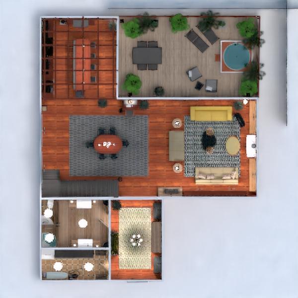 floorplans apartamento casa terraza muebles decoración bricolaje cuarto de baño dormitorio salón cocina exterior despacho iluminación paisaje estudio descansillo 3d