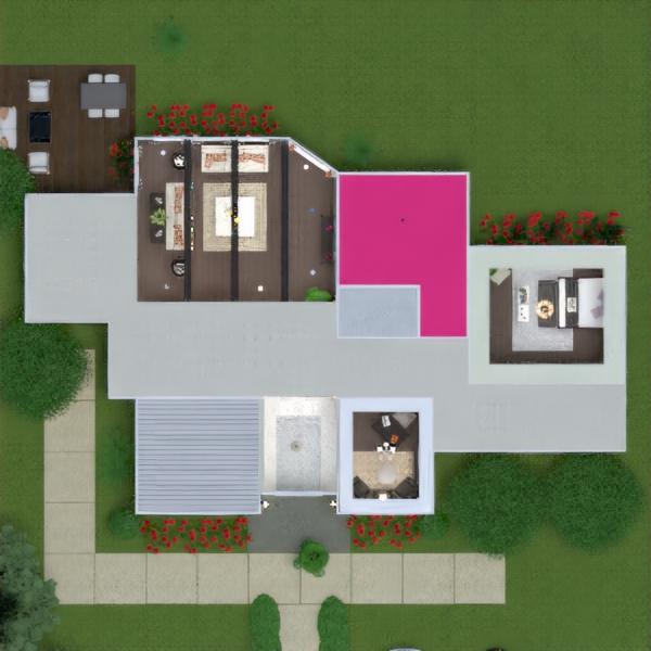 floorplans namas terasa baldai dekoras vonia miegamasis garažas virtuvė vaikų kambarys apšvietimas kraštovaizdis namų apyvoka valgomasis аrchitektūra studija 3d