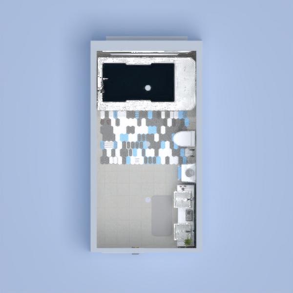 floorplans łazienka oświetlenie 3d