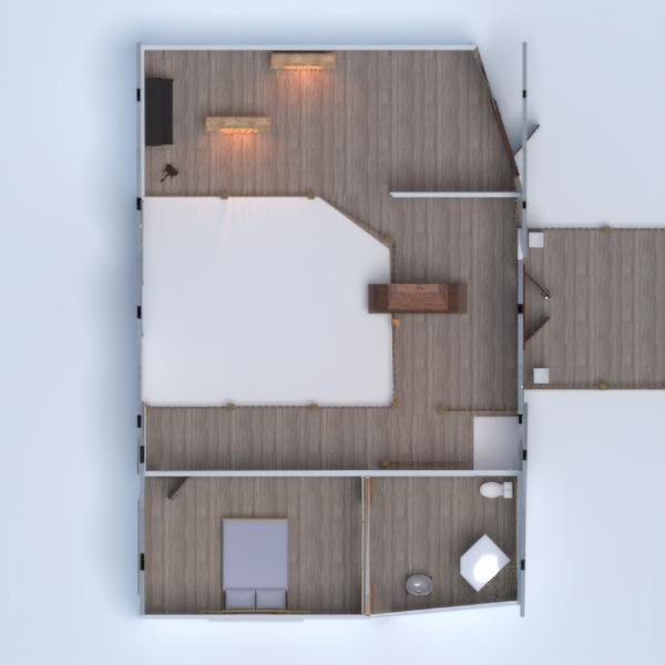 floorplans namas baldai garažas virtuvė eksterjeras 3d