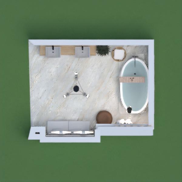 floorplans дом декор ванная хранение 3d