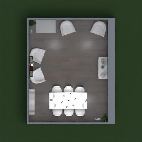progetti saggiorno sala pranzo 3d