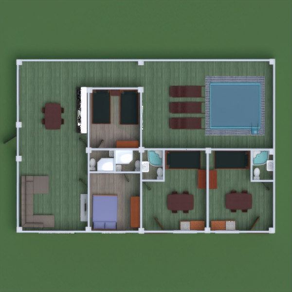 floorplans house bathroom bedroom kitchen household 3d