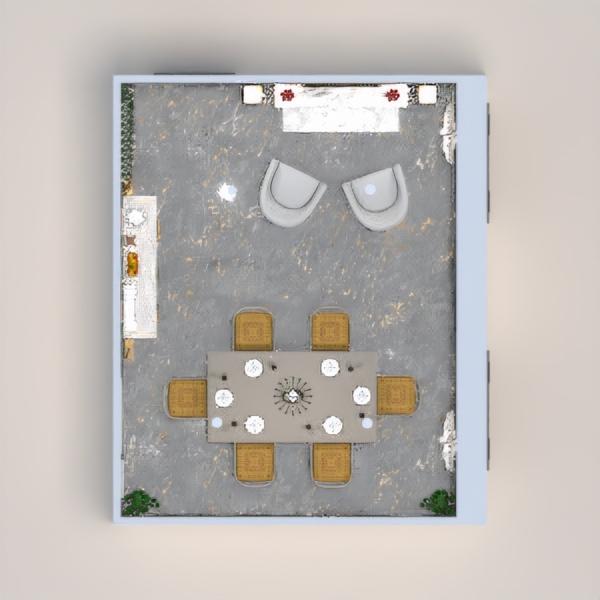 floorplans haus mobiliar dekor beleuchtung esszimmer 3d