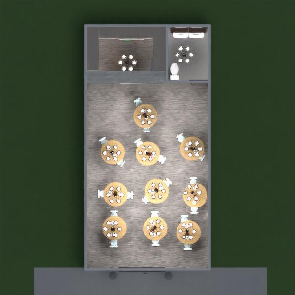 planos decoración cocina cafetería comedor arquitectura 3d