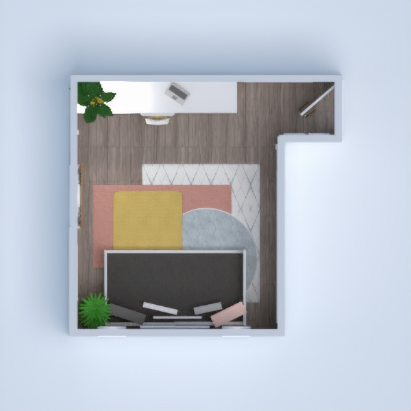floorplans wohnung mobiliar dekor do-it-yourself schlafzimmer studio 3d