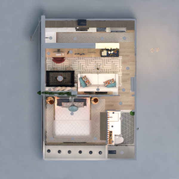 floorplans apartamento casa decoração quarto arquitetura 3d