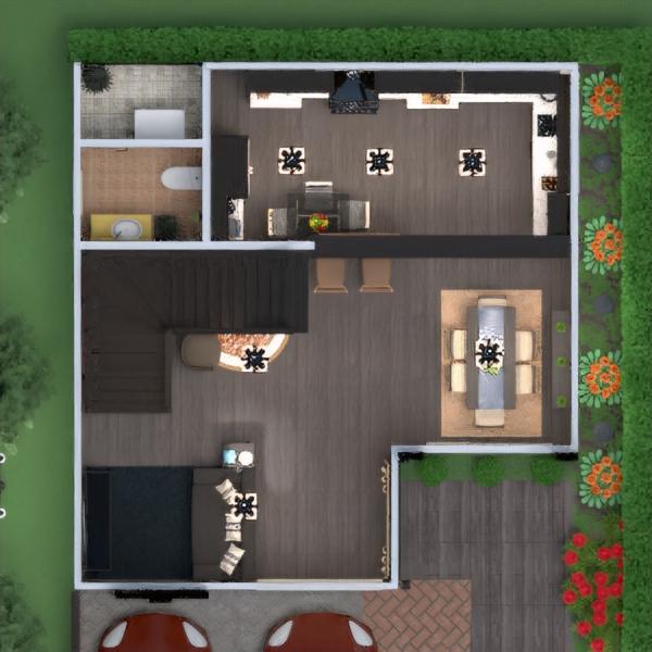 floorplans appartamento veranda arredamento decorazioni angolo fai-da-te bagno camera da letto saggiorno cucina esterno studio illuminazione rinnovo paesaggio famiglia caffetteria sala pranzo architettura vano scale 3d