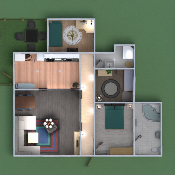 планировки дом мебель декор ремонт техника для дома 3d