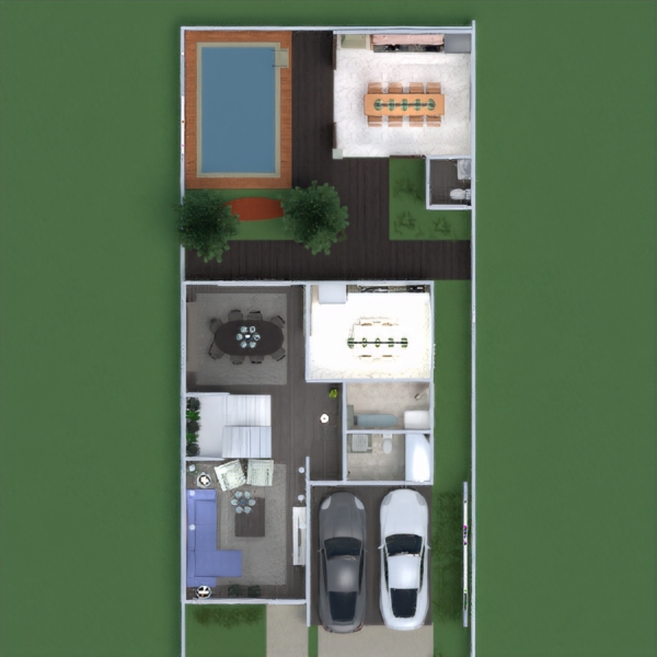 floorplans casa terraza muebles decoración bricolaje cuarto de baño dormitorio garaje cocina despacho iluminación reforma paisaje hogar comedor arquitectura trastero descansillo 3d