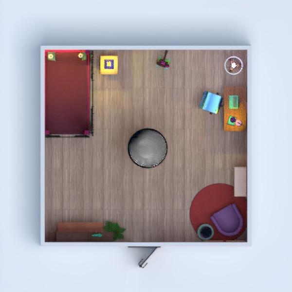 floorplans decorazioni angolo fai-da-te camera da letto cameretta 3d