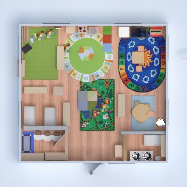 floorplans vaikų kambarys 3d