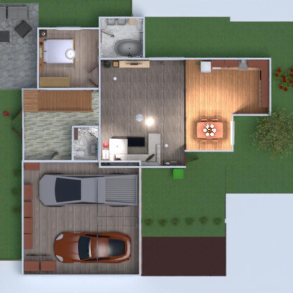 planos casa decoración garaje despacho hogar 3d