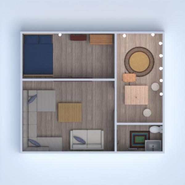 floorplans casa camera da letto saggiorno famiglia sala pranzo 3d