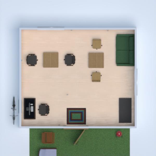 floorplans biuro mieszkanie typu studio 3d