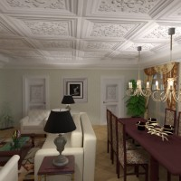 floorplans apartment furniture decor living room lighting renovation dining room architecture 3d