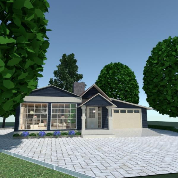 floorplans house kitchen outdoor renovation 3d